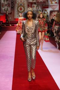 Dolce&Gabbana women's fashion show Spring Summer 2018 runway (48)