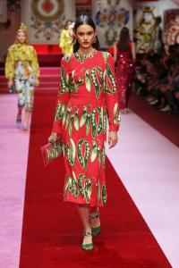 Dolce&Gabbana women's fashion show Spring Summer 2018 runway (98)