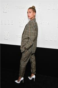 Hailey Baldwin at E!, ELLE & IMG NYFW Kickoff PartySponsored by TRESemmé