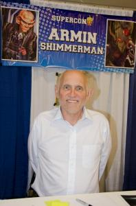 Armin Shimmerman at Florida Supercon