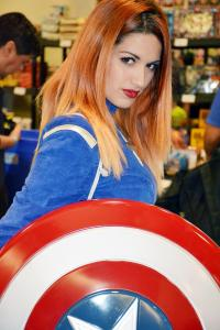 Captain America at Florida Supercon
