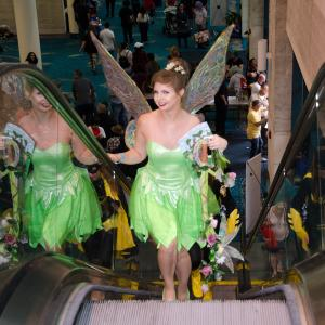 Fairy on the Escalator at Florida Supercon