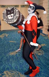 Harley Quinn at Florida Supercon