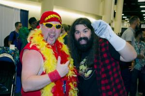 Hulk Hogan Mick Foley Florida Supercon