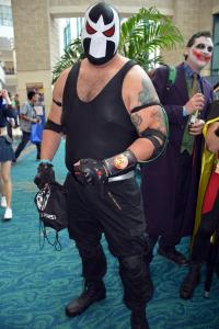 Wrestler at Florida Supercon