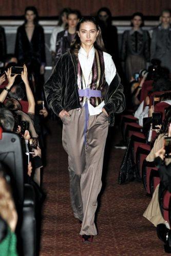 Francesca Liberatore Runway Show AW 20/21 at Milano Fashion week