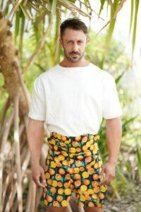 Franklin Eugene Citrus Collection at Milan Fashion Week
