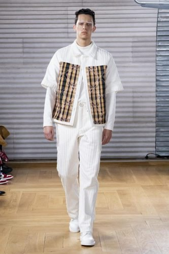 Menswear, summer 2020, Paris, Gunther