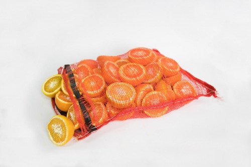 Tyler Macko, bag of oranges