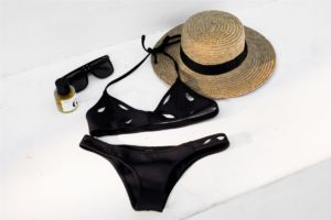 GIGI C BIKINIS Ambre Bikini Black