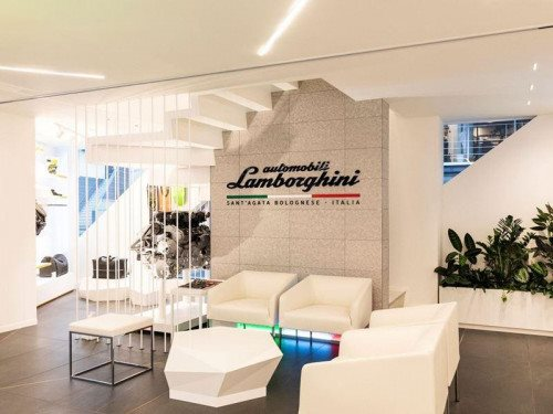 Lamborghini The Lounge Tokyo
