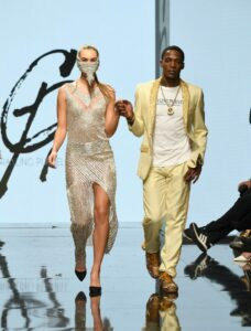 Grayling Purnell at Los Angeles Fashion Week FW/19 Powered by Art Hearts Fashion
