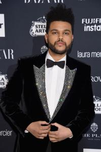The Weeknd Attends Harper's BAZAAR celebrates 'ICONS by Carine Roitfeld' at The Plaza Hotel presented by Infor, Laura Mercier, Stella Artois, Fujifilm and Swarovski