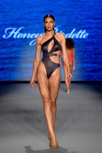 Honey Birdette Runway Show Paraiso Miami Beach 2021