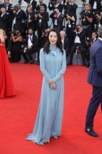 Actress Tao Hong wearing the Jaeger LeCoultre Rendez Vous Secret