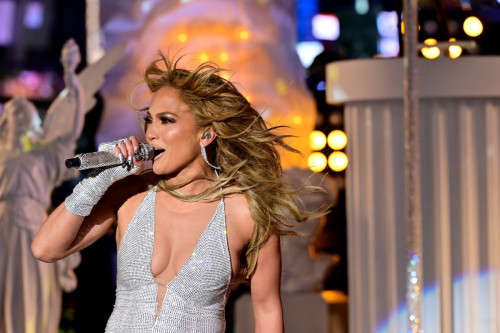 Jennifer Lopez Epic Times Square Performance At Dick Clark's New Year's Rockin' Eve and Wash Away 2020!