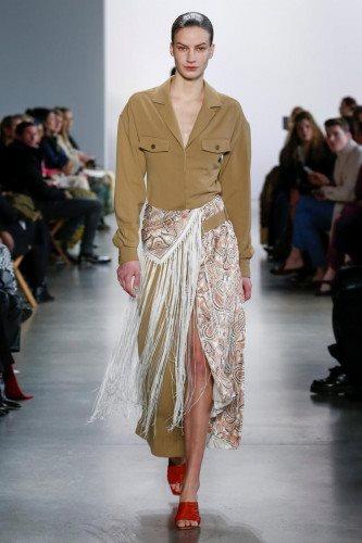 Jonathan Simkhai Fall Winter 2020 at New York Fashion Week