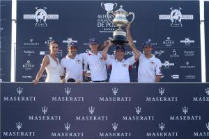004 Maserati Polo Tour  Copa de Plata Maserati in Sotogrande  Nieves Alvarez with Lechuza Caracas Polo Team
