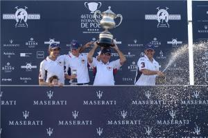 005 Maserati Polo Tour  Copa de Plata Maserati in Sotogrande Juan Martin Nero, James Harper, Victor Vargas and David Stirling