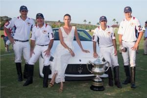 008 Maserati Polo Tour Copa de Plata Maserati in Sotogrande Nieves Alvarez and Victor Vargas with team Lechuza Caracas MNT 9523