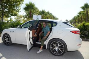 009 Maserati Polo Tour Copa de Plata Maserati in Sotogrande Scott Schuman arrives in a Maserati Levante MNT 8616