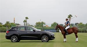 Maserati Levante and professional polo player Malcolm Borwick (1)