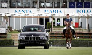Maserati Levante and professional polo player Malcolm Borwick (2)