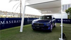 Maserati Levante on display at Santa Maria Polo Club in Sotogrande (2)