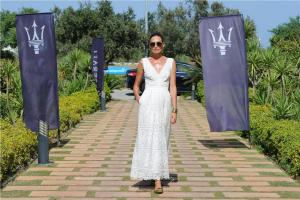 Maserati Polo Tour Copa de Plata Maserati in Sotogrande Nieves Alvarez with Maserati Levante (2)