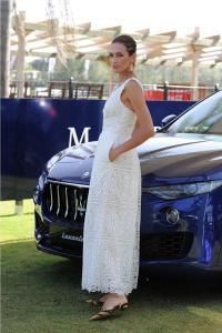 Maserati Polo Tour  Copa de Plata Maserati in Sotogrande Nieves Alvarez with Maserati Levante (3)