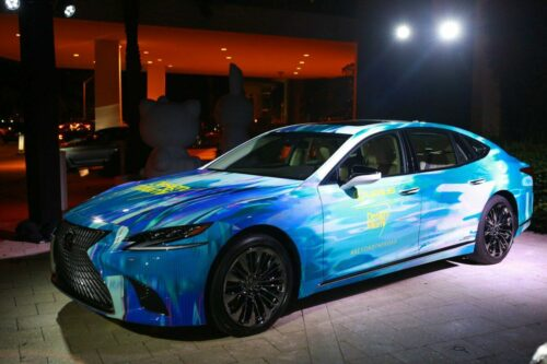 LEXUS Kicked off its 2nd Annual Partnership with Design Miami as Official Automotive Partner
