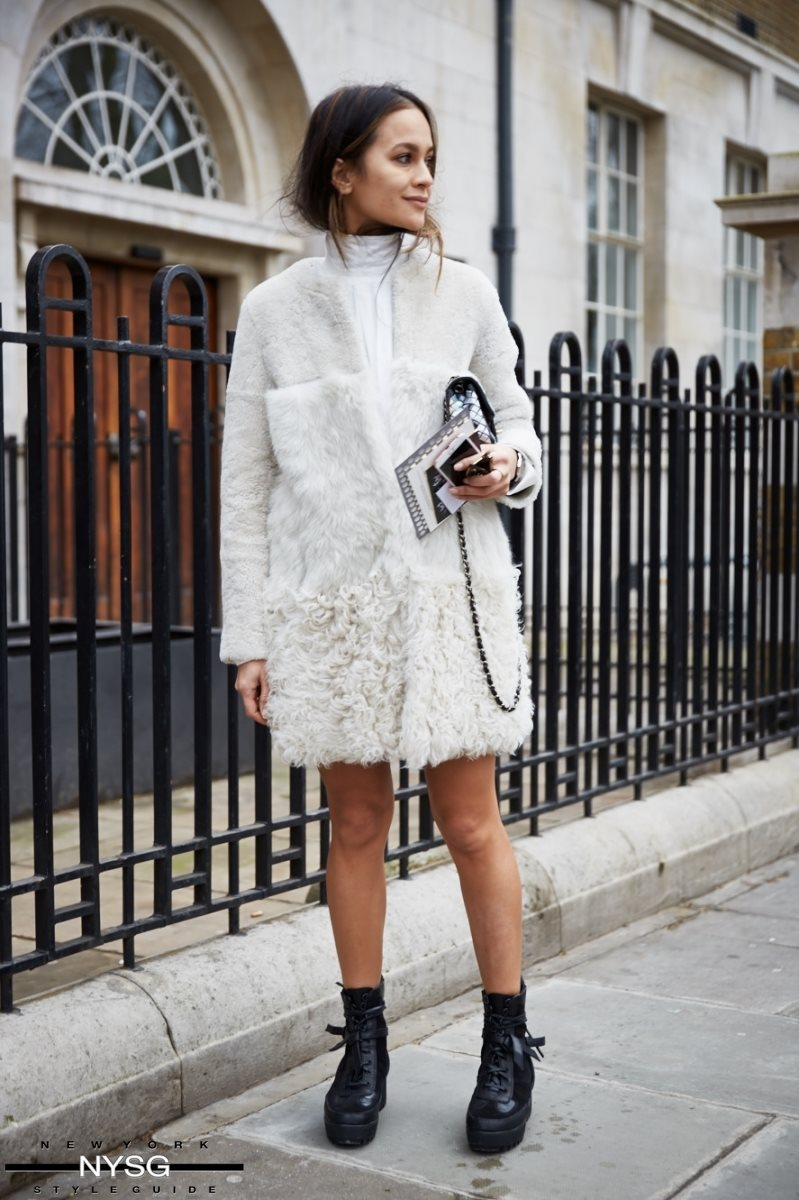 London Fashion Week Street Style Aw 2016