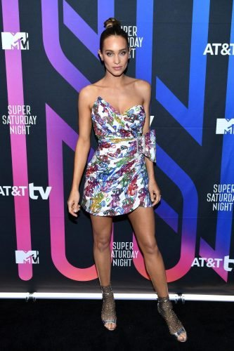 Hannah Jeter attends AT&T TV Super Saturday Night at Meridian at Island Gardens on February 01, 2020 in Miami, Florida.