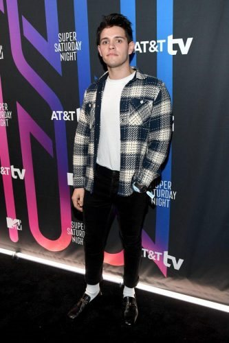 Casey Cott attends AT&T TV Super Saturday Night at Meridian at Island Gardens on February 01, 2020 in Miami, Florida.