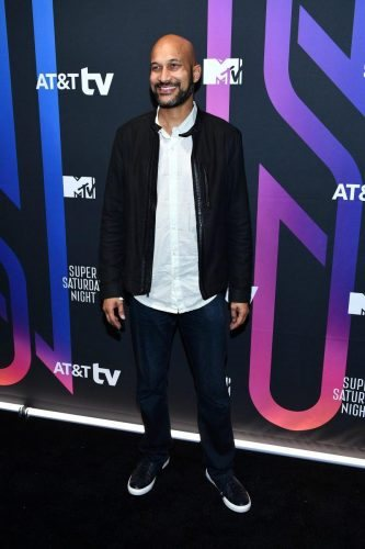 Keegan-Michael Key attends AT&T TV Super Saturday Night at Meridian at Island Gardens on February 01, 2020 in Miami, Florida.