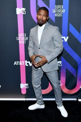 Jamie Foxx attends AT&T TV Super Saturday Night at Meridian at Island Gardens on February 01, 2020 in Miami, Florida.