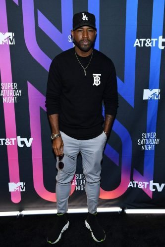 Karamo Brown attends AT&T TV Super Saturday Night at Meridian at Island Gardens on February 01, 2020 in Miami, Florida.
