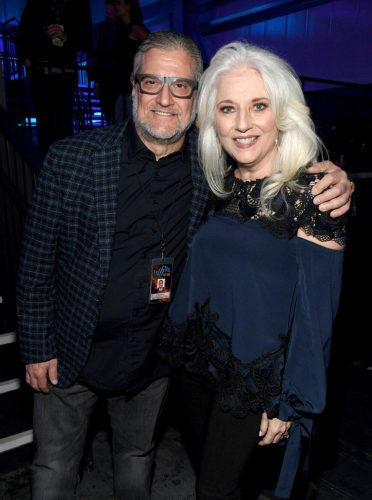 (L-R) Joe Germanotta and Cynthia Germanotta attend AT&T TV Super Saturday Night at Meridian at Island Gardens on February 01, 2020 in Miami, Florida.