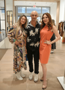 Sabrina Yanguas, Franklin Aendano and Tara Solomon
