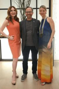 Tara Solomon, Nelson Hincapie and Jen Shields