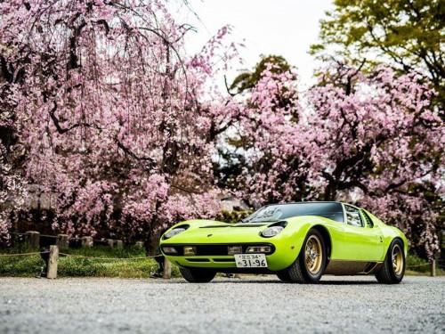 Miura SV(1971), Best Lamborghini, Concorso d'Eleganza Kyoto 2019 - Credit Remi Dargegen