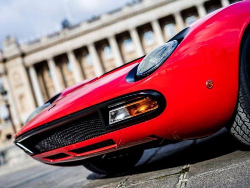 Miura SV Jean Todt Rosso Corsa - 3 credit Remi Dargegen - Automobili Lamborghini