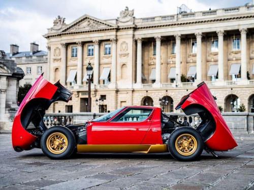Miura SV Jean Todt Rosso Corsa - 5 credit Remi Dargegen - Automobili Lamborghini