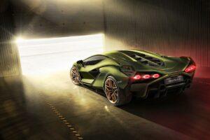 The Lamborghini Sián: Limited edition hybrid super sports car