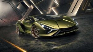 The Lamborghini Sián: Limited edition hybrid super sports car