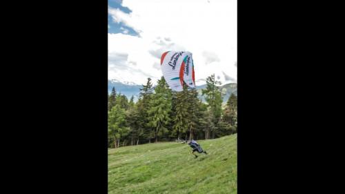 Aaron Durogati takes off