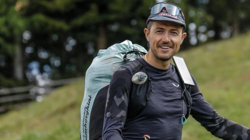 Aaron Durogati walk