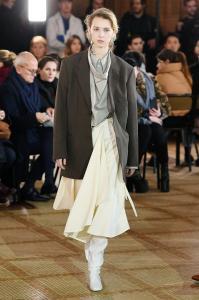 Paris Fashion Week - Lemaire Runway Show Fall Winter 2018 Womenswear 1