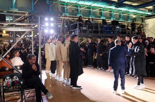 Li Ning Menswear Fall Winter 2020-21 at Paris Fashion Week?????