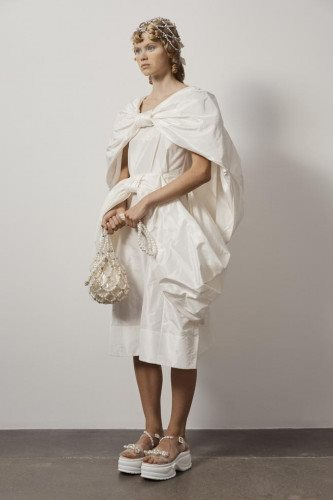 Simone Rocha SS21 Lookbook photographed by Andrew Nuding